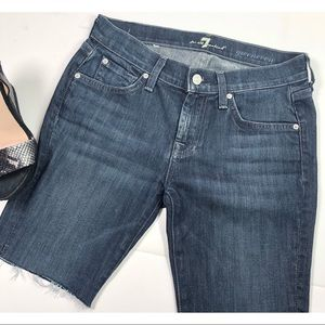 7 For All Mankind | Women's Cutoff Shorts Size 26